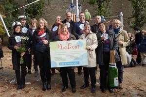 Einweihung des MoaBoat an der Moabiter Grundschule am 9. Oktober 2015. Fotografie: Frank Nürnberger. +49-172-101 3456. www.franknuernberger.de.