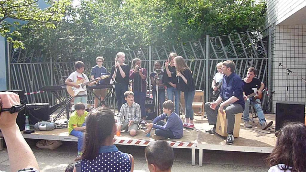 Die »Moabeats« beim Sommerfest 2014